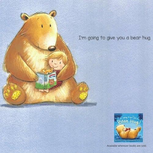 Kids Book Im Going To Give Youa Bear Hug