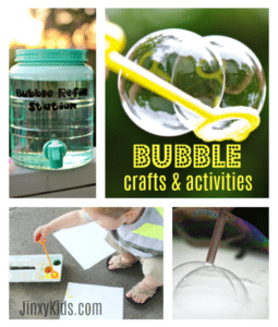 Bubble Crafts and Activities with Teletubbies