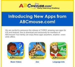 New Apps from ABCmouse – Free Downloads for Users!