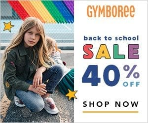 Back To School With Gymboree + 40% Off