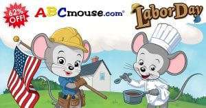 ABCmouse Over 60% Off through September 3rd!