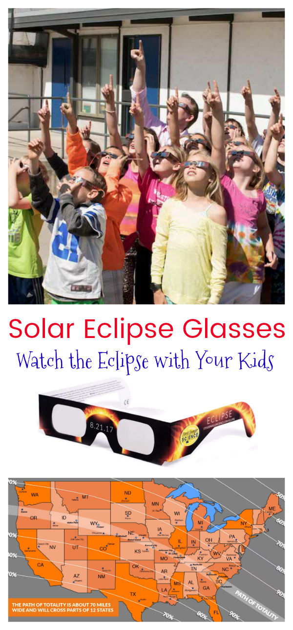 Solar Eclipse Glasses – Watch the Total Eclipse with Your Kids