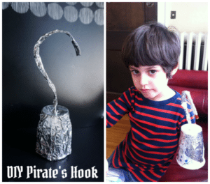 Easy DIY Pirate Hook Craft – Aaaarrrrgggghhhh!