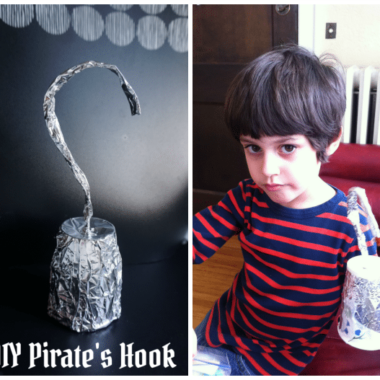 Easy DIY Pirate Hook Craft Activity