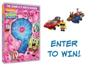 SpongeBob SquarePants: The Complete Ninth Season DVD Available Soon + Reader Giveaway