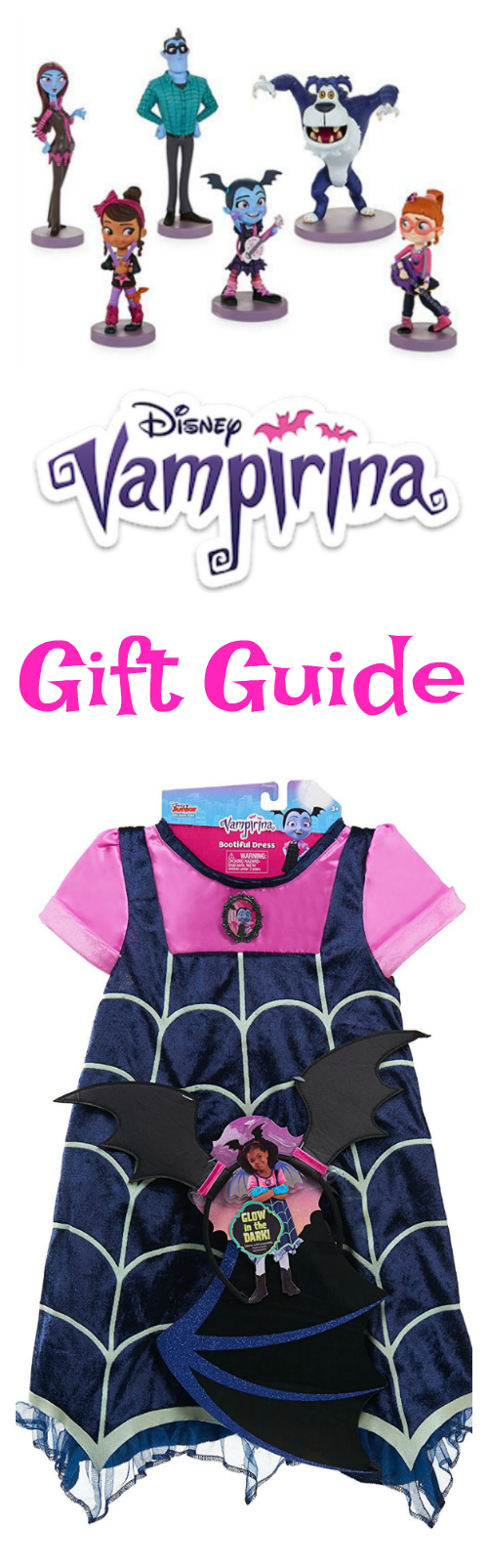 Find fun ideas for birthday or holiday presents with this Disney Vampirina Gift Guide!