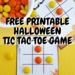 HALLOWEEN TIC TAC TOE GAME