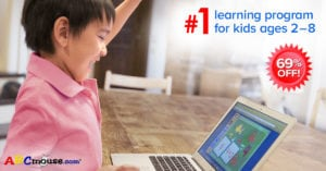 #1 Online Kids Learning Program – ABCmouse – 69% Off!