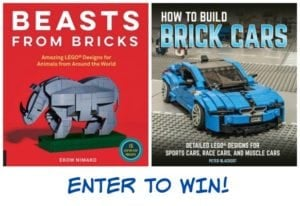 Build Animals and Cars with Quarto's New Brick-Building Books + Reader Giveaway!