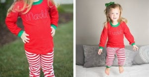 Kids' Personalized Holiday Pajamas – $19.99!