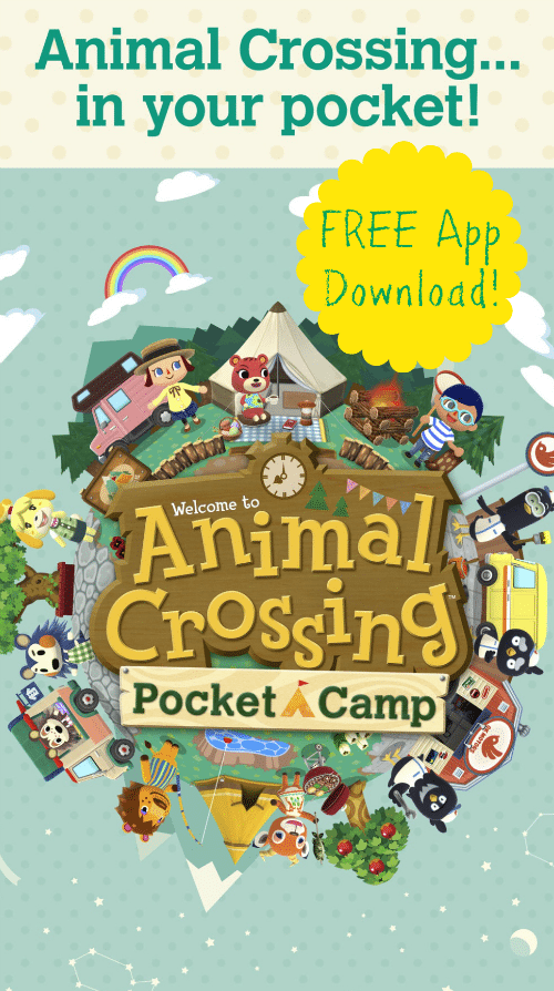 Animal Crossing Pocket Camp - Download the app for FREE!