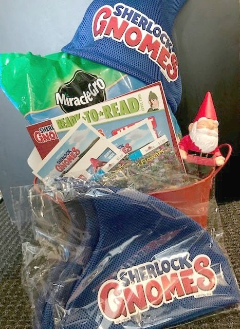 Sherlock Gnomes Prize Pack with Books