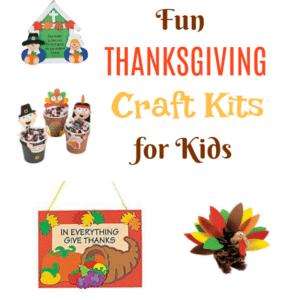 Fun Thanksgiving Craft Kits for Kids