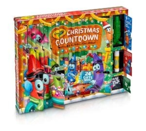 Christmas Countdown Activity Advent Calendar from Crayola