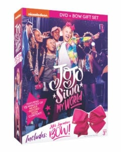 JoJo Siwa: My World DVD + Bow Gift Set Giveaway – 3 Winners!
