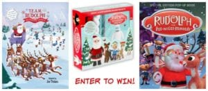 Three Fun Rudolph the Red-Nosed Reindeer Books + Reader Giveaway