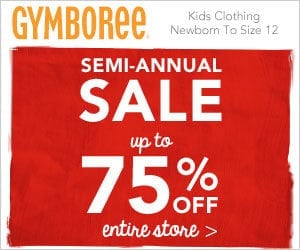 Gymboree: Entire Store – Up to 75% Off!