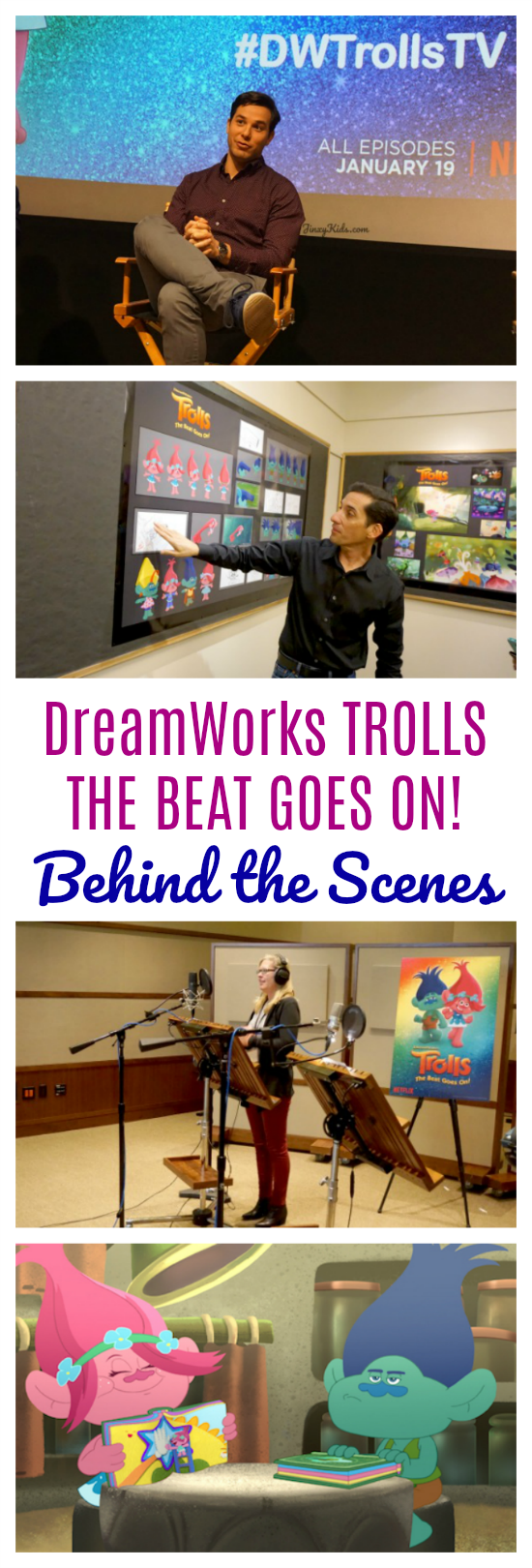 DreamWorks: TROLLS THE BEAT GOES ON! Behind the Scenes - Take a peak into the creation of Trolls: The Beat Goes On! with interviews with stars Skylar Astin and Amanda Leighton, producer Matthew Beans, musical director Alana Da Fonseca, a peak into the recording booth and lots more! #DWTrollsTV #Trolls #DreamWorks #Animation #Entertainment