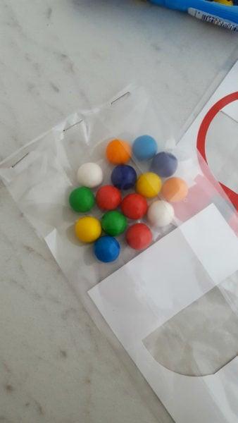 DIY Gum ball Valentines