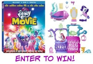 My Little Pony: The Movie Now Available on Blu-ray + Reader Giveaway