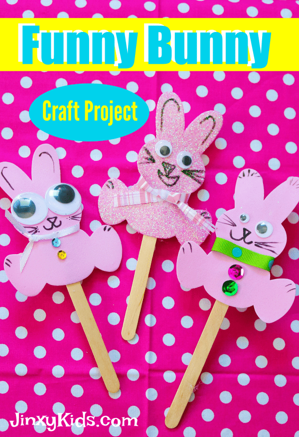 Funny Bunny Craft Project