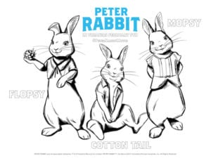 Peter Rabbit Printable Activity Sheets