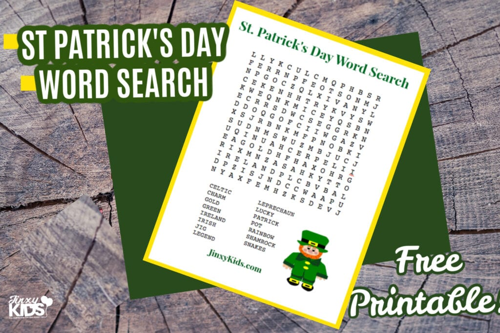 St. Patrick's Day Word Search Puzzle copy