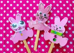 Funny Bunny Craft – Foam Crafting Fun!