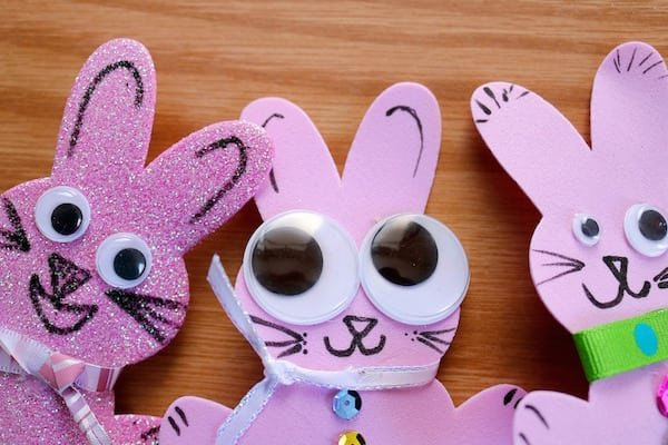 Draw Funny Bunny Faces