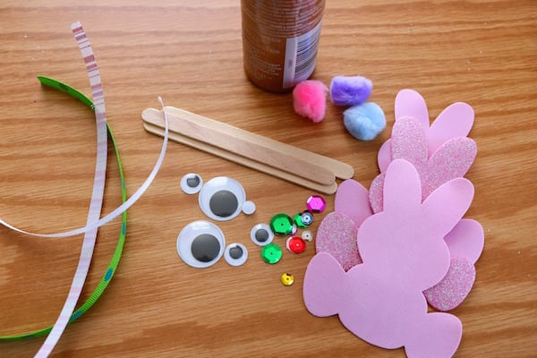 Bunny Foam Craft Supplies