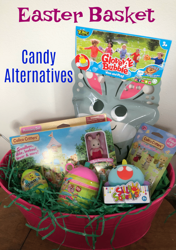 Easter Basket Candy Alternatives