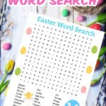 FREE PRINTABLE EASTER WORD SEARCH PUZZLE