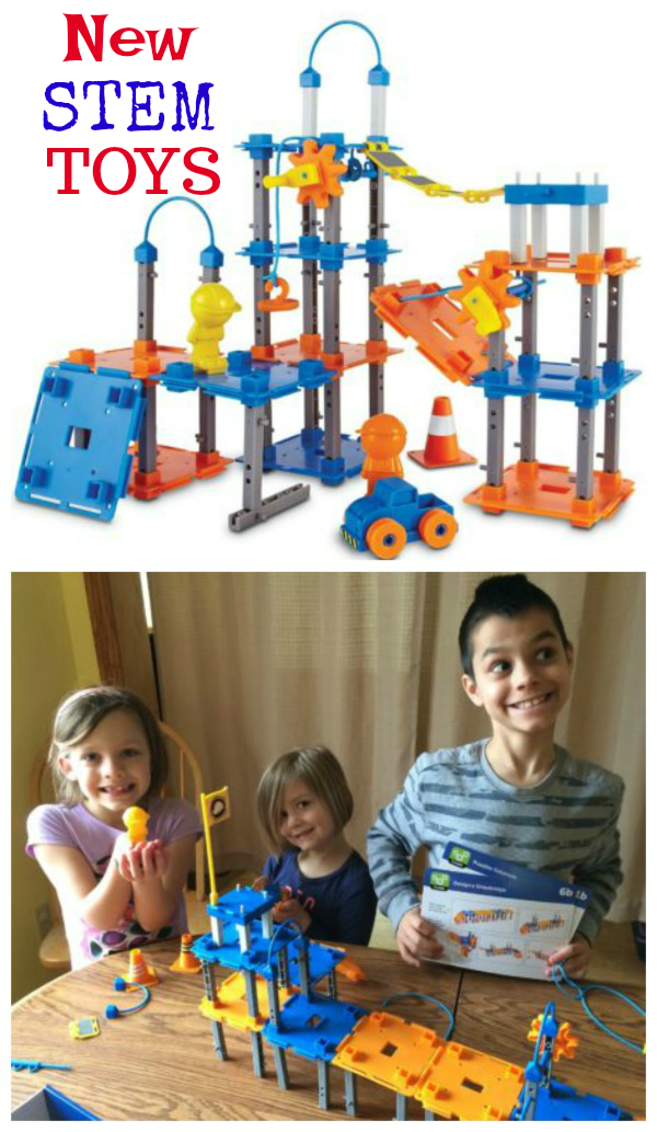 New STEM Toys Fun with Building