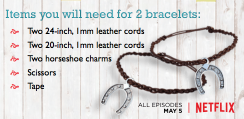 Spirit Riding Free Friendship Bracelet Craft