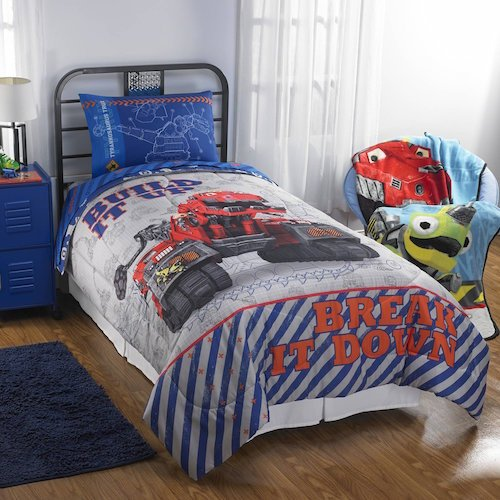 Dinotrux Bedding Sheets Comforter