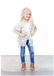 Kimonos for Kids in Adorable Florals