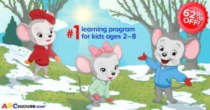 #1 Online Kids Learning Program – ABCmouse – 62% Off!