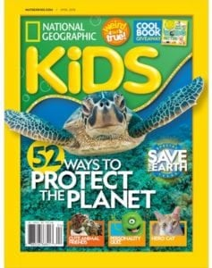 National Geographic Kids Magazine – As Low As $12.50 Per Year (Great Gift Idea!)