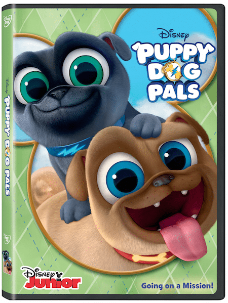 Puppy Dog Pals DVD Box Art
