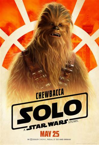 Chewbacca Solo Star Wars Story Poster