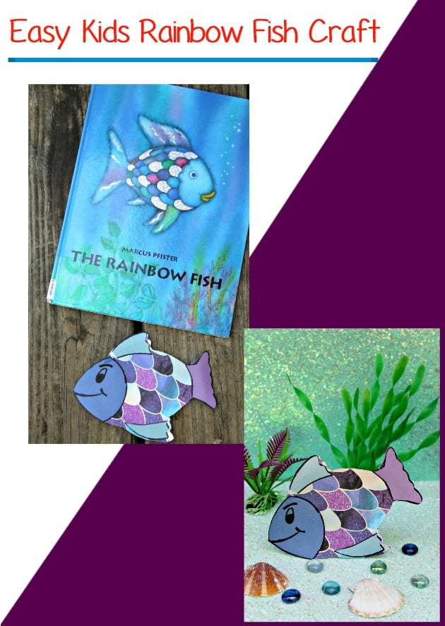 Easy Kids Rainbow Fish Craft