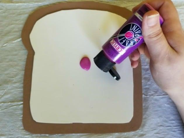 Bread And Jam For Frances Book Preschool Craft Step 7