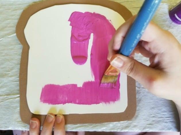 Bread And Jam For Frances Book Preschool Craft Step 8