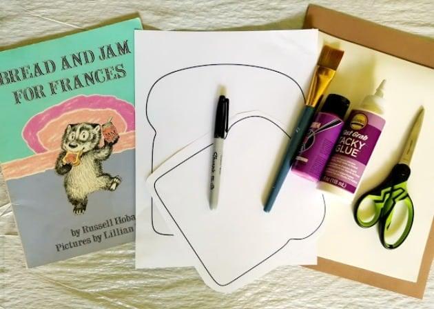 Bread And Jam For Frances Book Preschool Craft Supplies
