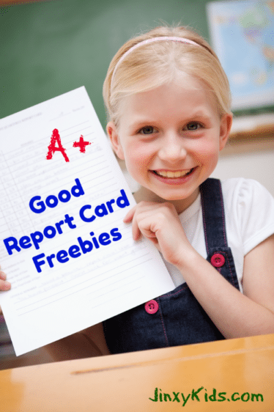 2018 Good Report Card Freebies List