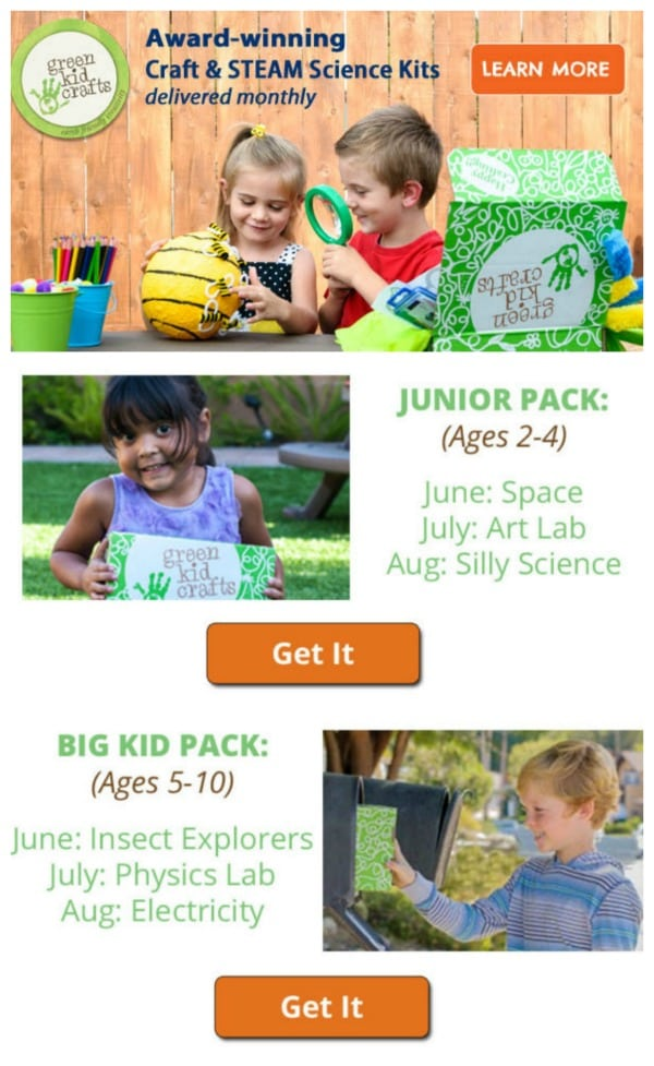 Celebrate a Summer of Fun and Learning with Green Kid Crafts