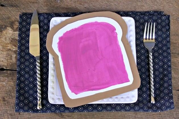 Bread And Jam For Frances Book Preschool Craft 2
