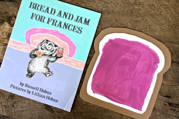 Bread And Jam For Frances Book Preschool Craft