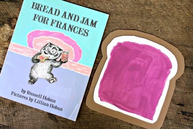 Bread And Jam For Frances Book Preschool Craft