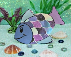 Easy Rainbow Fish Craft